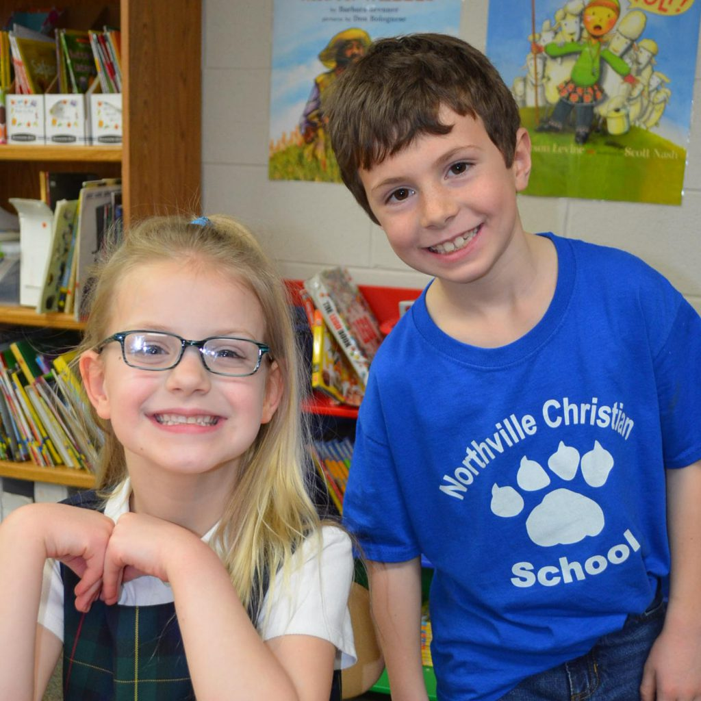 Two Second Graders