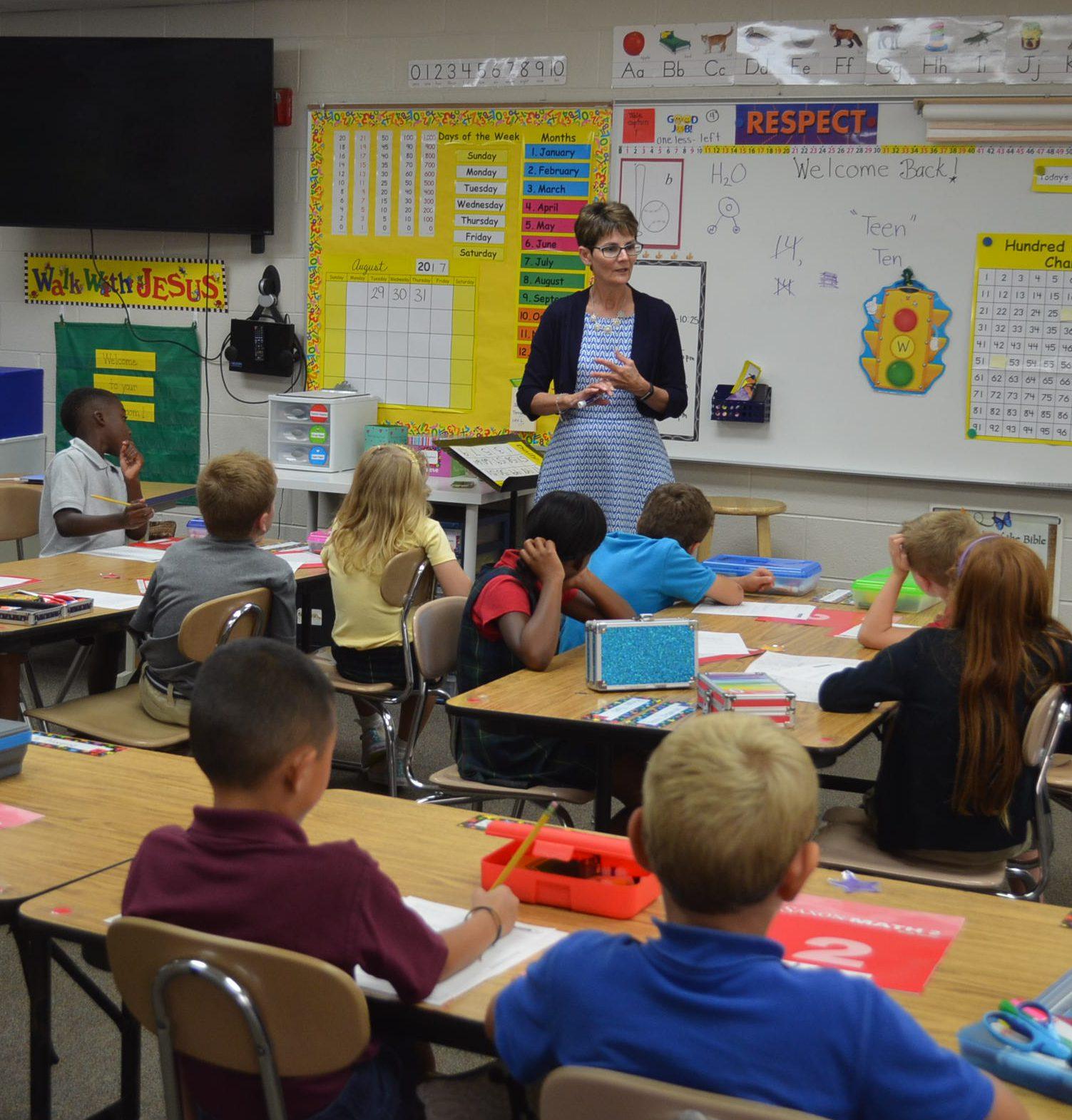 2nd grade classroom